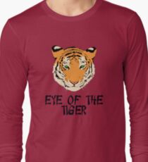 Eye of the Tiger by Chillee Wilson Long Sleeve T-Shirt