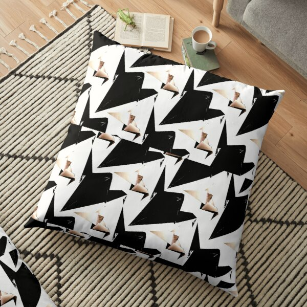 Flight of the Crane Floor Pillow