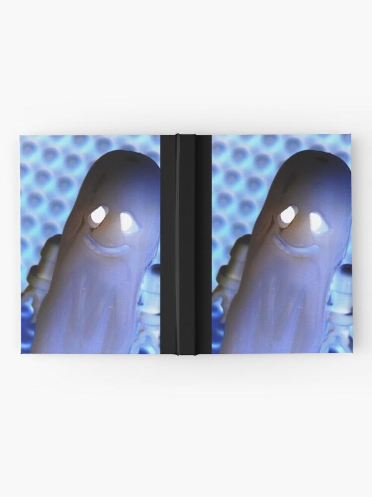 Alternative Ansicht von Ghost and Skeleton Minifigure Notizbuch