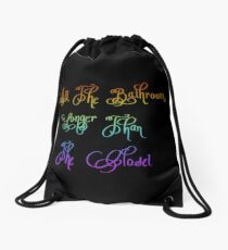 Coming out! Drawstring Bag