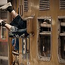 Foot and Train by RONI PHOTOGRAPHY
