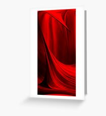 I see red.......2 Greeting Card