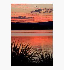 The Orange Lake Photographic Print