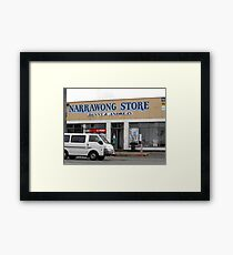Narrawong Store Framed Print