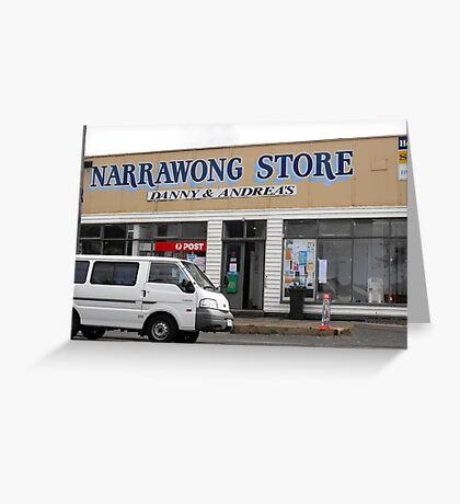 Narrawong Store Greeting Card