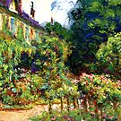 Monet - The Artist's House at Giverny by virginia50