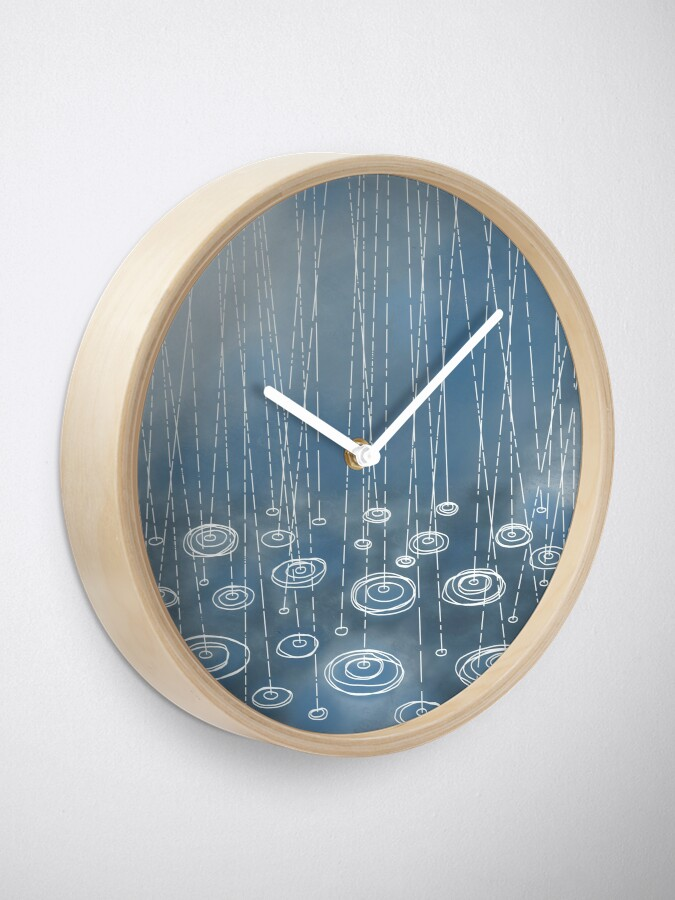 Alternate view of Another Rainy Day Clock