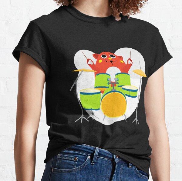Nyango Star Mascot Drummer Classic T-Shirt