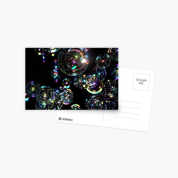 Bubbles at night Postcard