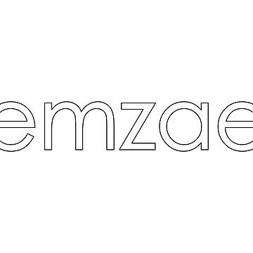 Classic emzae logo unisex t-shirt by emzae