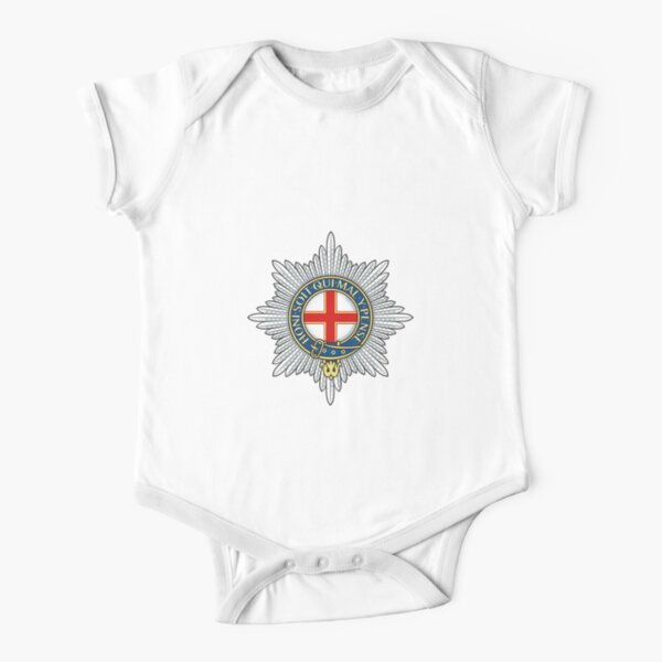 Coldstream Guards (UK) Short Sleeve Baby One-Piece