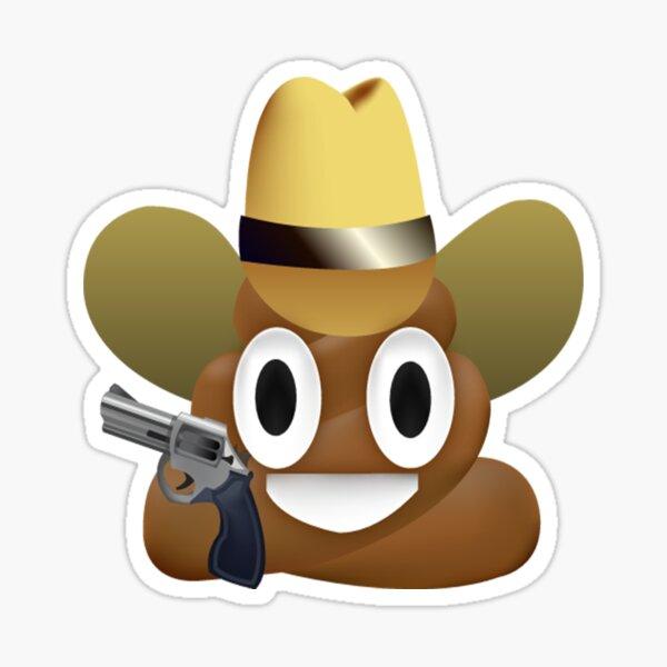 Cowboy merde emoji Sticker
