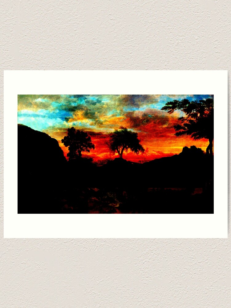 Alternate view of Yayla Art Print