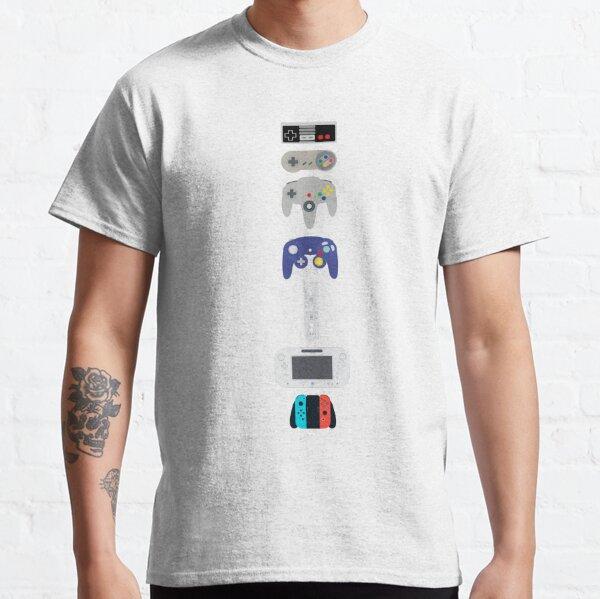 Evolution de Nintendo T-shirt classique
