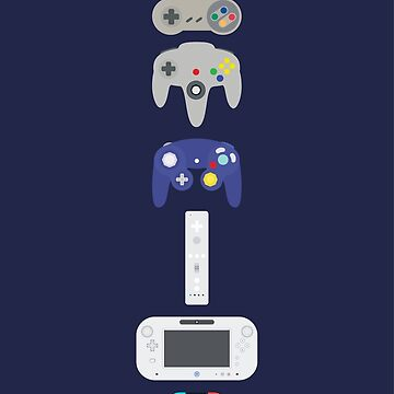 Evolution of Nintendo by MBPhotography94