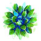 Evergreen Succulent by RavensLanding