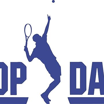 Top dad tennis player t shirt by daniele2016