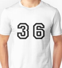 Thirty Six Unisex T-Shirt