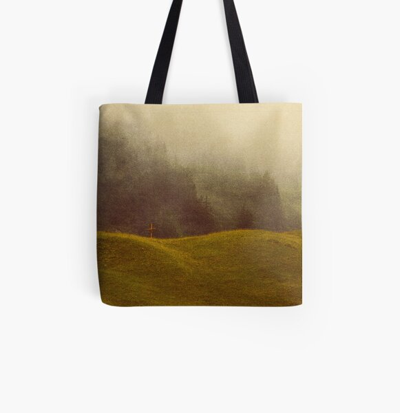 Fading Faith Allover-Print Tote Bag