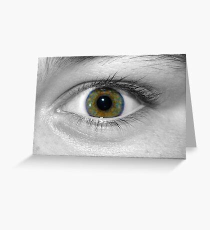 Eye Spy Greeting Card