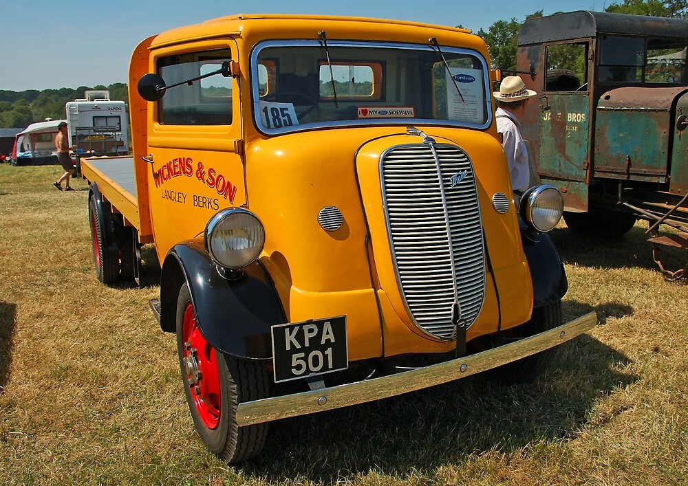 Fordson Thames Model 7V by Willie Jackson