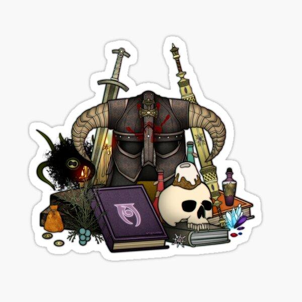 Skyrim Esthétique Sticker