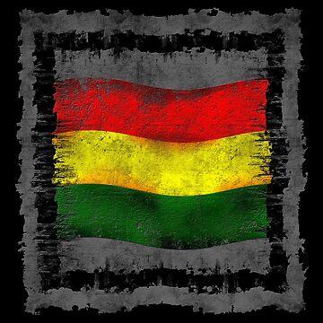 Reggae Fahne von Periartwork