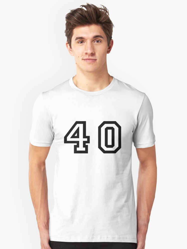Forty Unisex T-Shirt Front