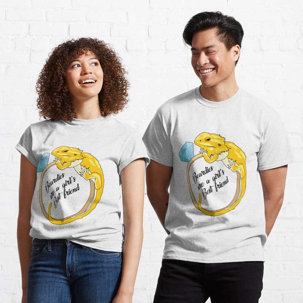 Beardies Are a Girls Best Friend Classic T-Shirt