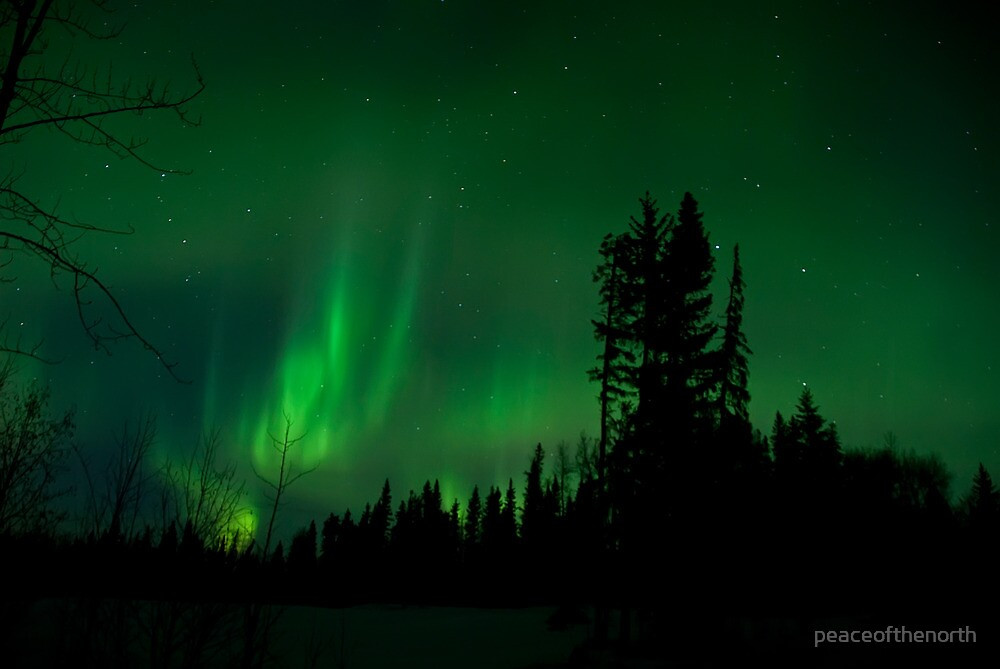 April 2nd/10 Auroras Part 2 by peaceofthenorth