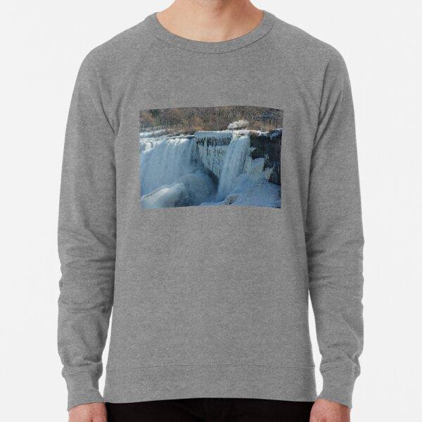 Icy Niagara Falls Lightweight Sweatshirt