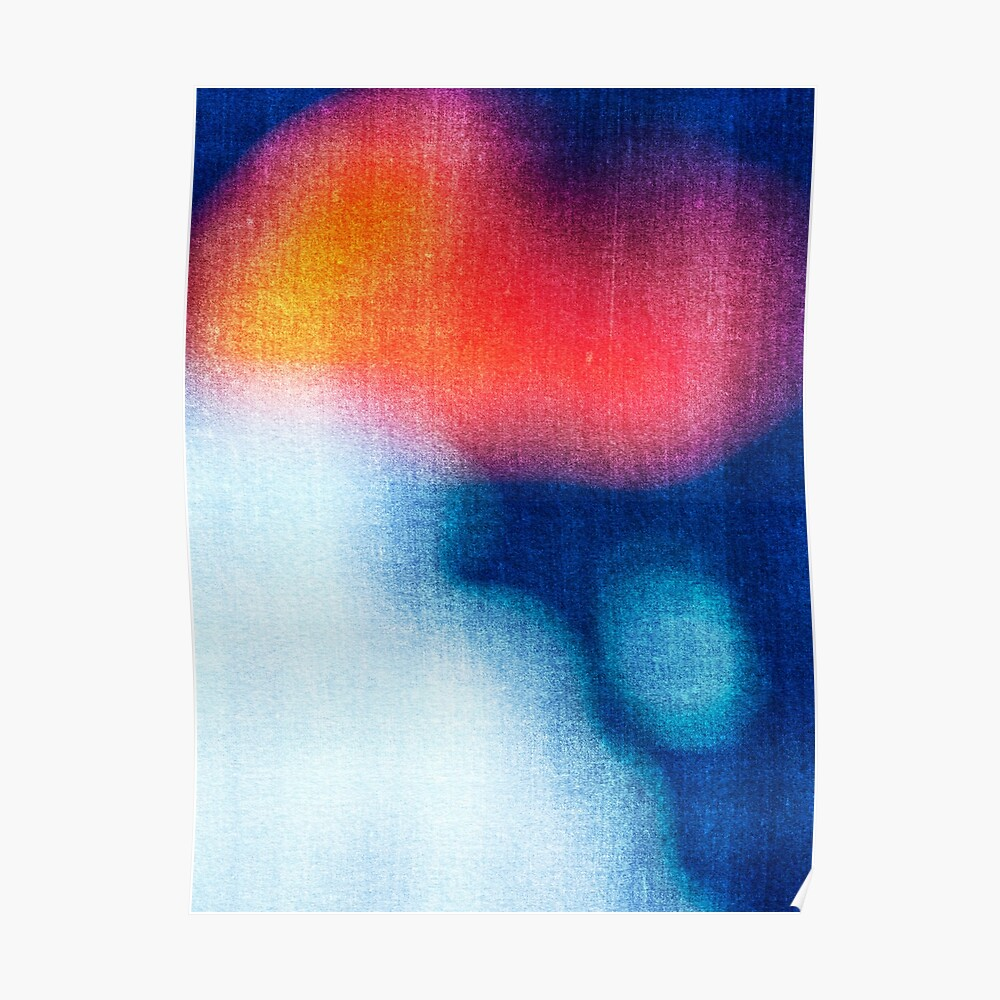 BLUR / Burning Ice Poster