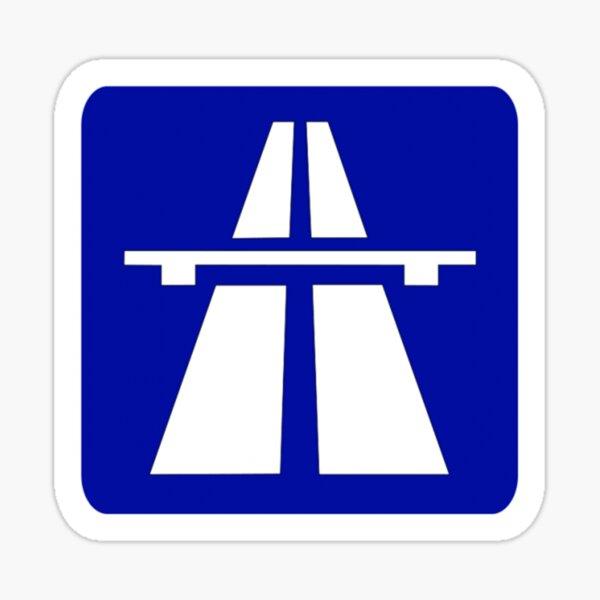 Autobahn Sticker
