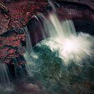 Cascade (below Adams Falls) by Aaron Campbell