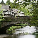Grasmere, bridge over River Rothay by BronReid