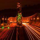Night at Melba Tunnel by Jason Green