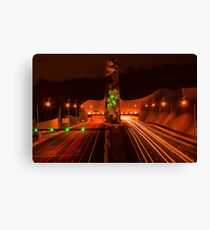 Night at Melba Tunnel Canvas Print
