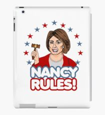 Nancy Rules! iPad Case/Skin