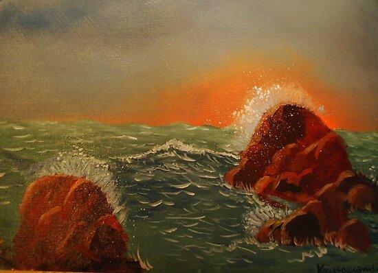 Splashes by Kostas Koutsoukanidis