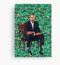 Lienzo Retrato de Obama