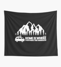 Home is where you park the Vanagon Wandbehang