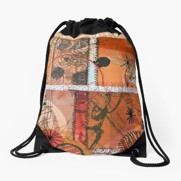 A Gift from the Edge to the Middle Drawstring Bag