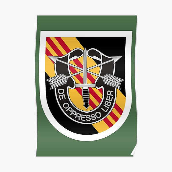 5th Special Forces Group (United States) Poster