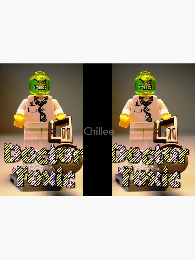 Doctor Toxic with Chainsaw, Custom Minifigure von Chillee