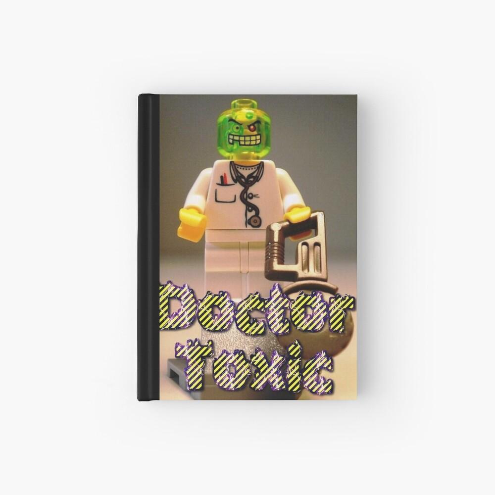 Doctor Toxic with Chainsaw, Custom Minifigure Notizbuch