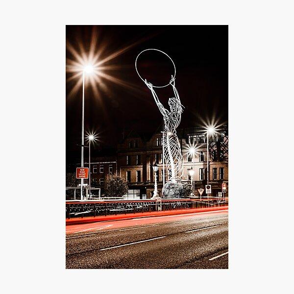 Belfast City - Beacon of Hope Photographic Print