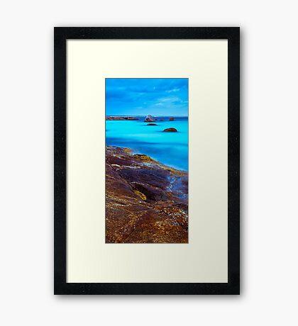 Mississippi Point Framed Print