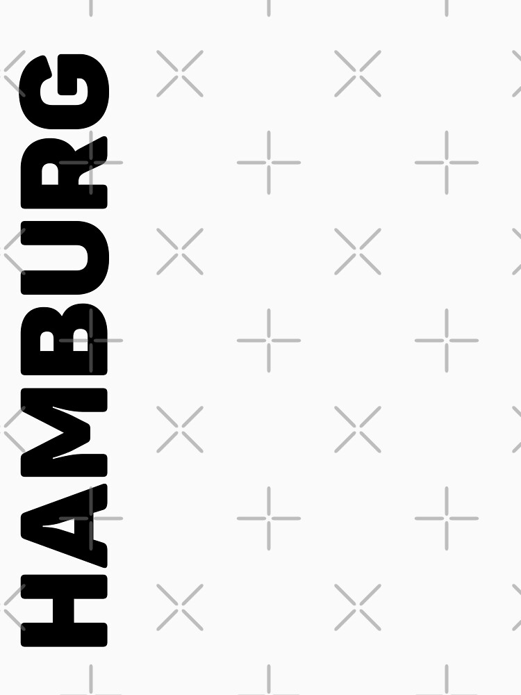 Hamburg T-Shirt by designkitsch