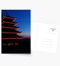 Pagoda Postcards