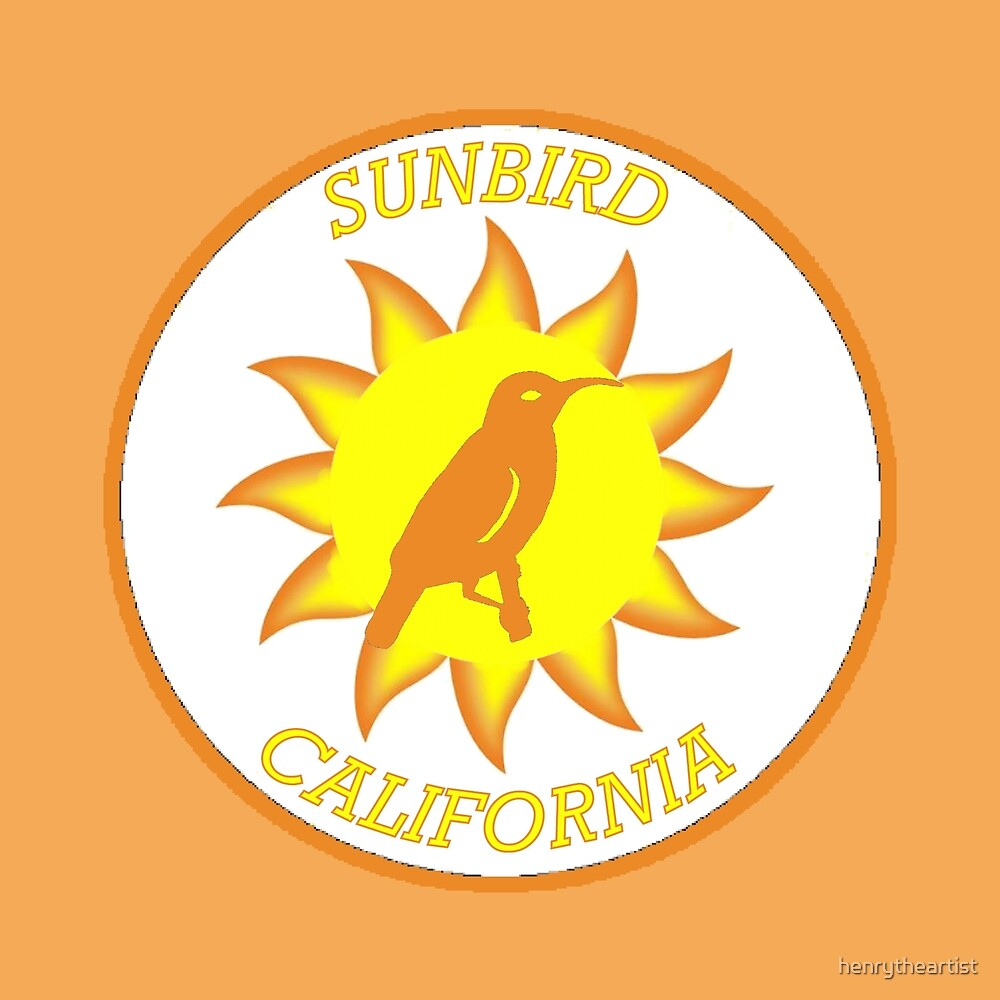 California Sunbird Shield by henrytheartist